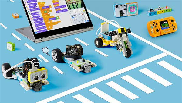 Crowbits STEM Education Programmable Electronic Blocks Compatible with LEGO