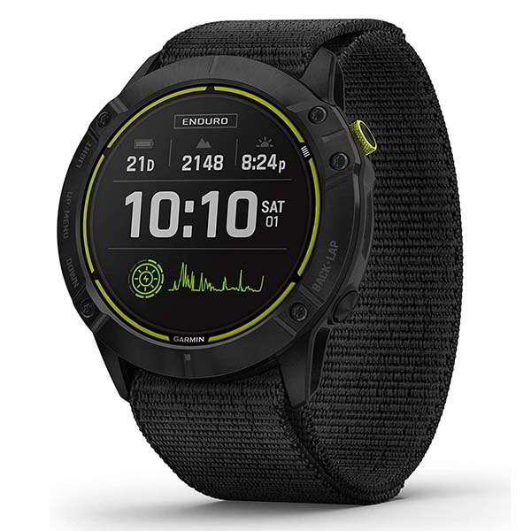 Garmin Enduro Multisport GPS Watch with Glass Solar Charging Lens