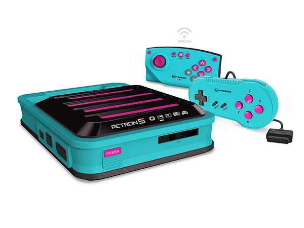 Hyperkin RetroN 5 HD Gaming Console for SNES, Super Famicom and More