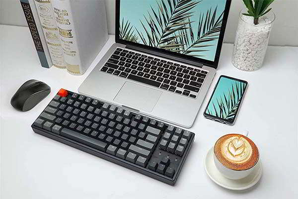 Keychron K8 Tenkeyless Wireless Mechanical Keyboard with RGB Backlit