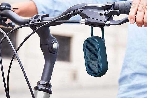 Lexon Mino T Portable Bluetooth Speaker with Carabiner