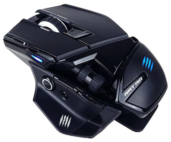 Mad Catz The Authentic R.A.T. Air Optical Wireless Gaming Mouse with Charging Pad