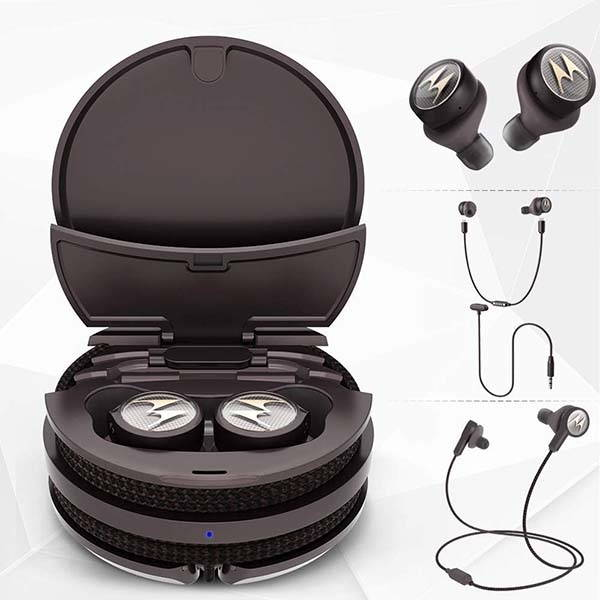 Motorola Tech3 Smart True Wireless Bluetooth Earbuds with 3 Modes