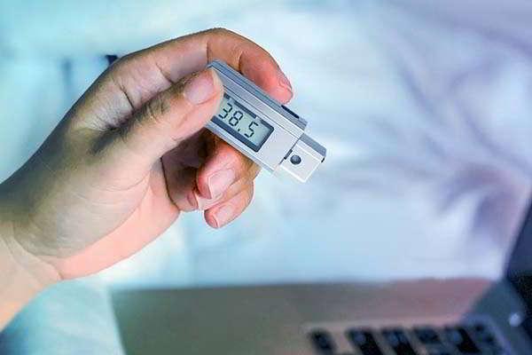 NOMEDC EDC Mini Thermometer