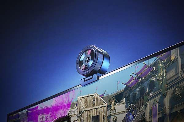 Razer Kiyo Pro Streaming Webcam with Wide-Angle Len and Adjustable FOV