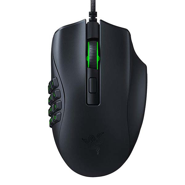 Razer Naga X Wired MMO Gaming Mouse with 2nd-gen Razer Optical Switch