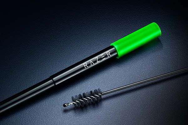 Razer Reusable Stainless Steel Straw with Telescopic Design