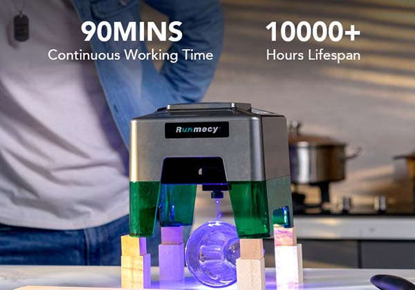Runmecy Compact Laser Engraver and Cutter