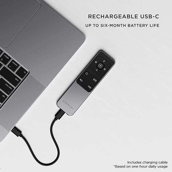 Satechi R2 Bluetooth Remote Controller for MacBook, iMac, iPad and iPhone