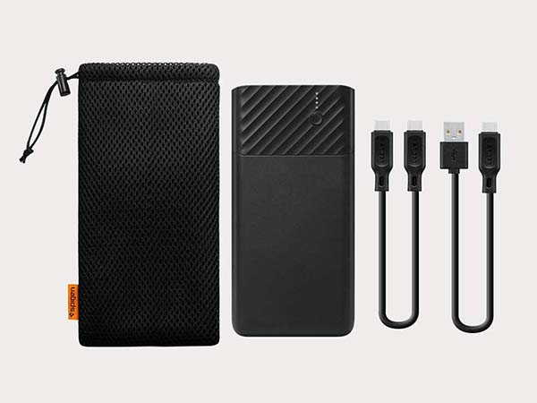 Spigen PocketBoost Portable Power Bank with Quick Charge