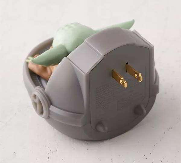 Star Wars Baby Yoda Talking Light Clapper with LED Night Light