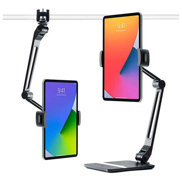 Twelve South HoverBar Duo iPad Stand with Weighted Base and Surface Clamp