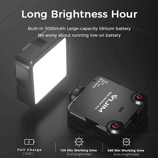 VIJIM VL-81 LED Video Light with Softbox Design
