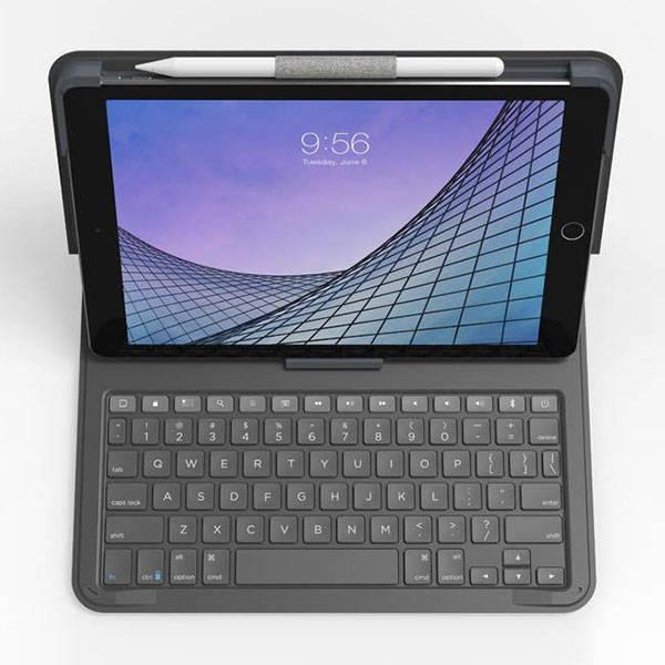 ZAGG Messenger Folio 2 10.2-Inch iPad Keyboard Case with Apple Pencil Holder