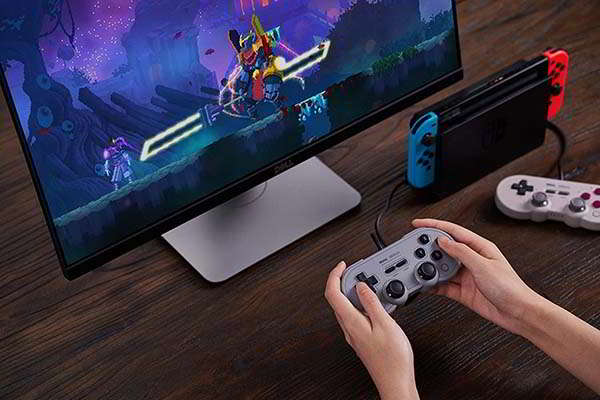 8Bitdo Sn30 Pro Wired USB Gamepad for PC, Switch and Raspberry Pi