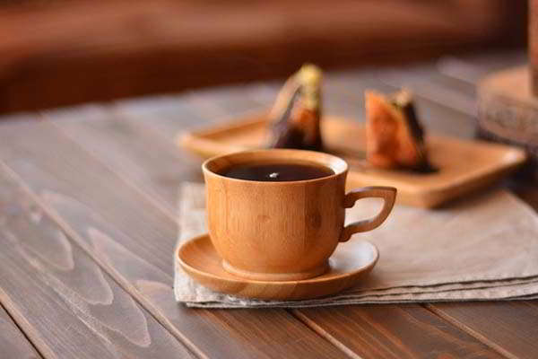 Bambum Cortado Handmade Bamboo Tea Cup Set