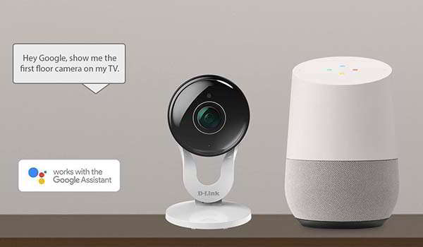 D-Link Smart Indoor Security Camera Supports Alexa and Google Assistant