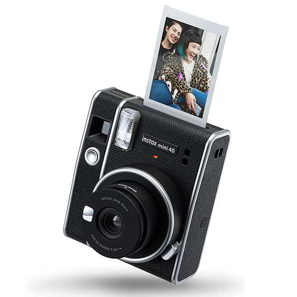 Fujifilm Instax Mini 40 Instant Camera with One-Touch Selfie Mode