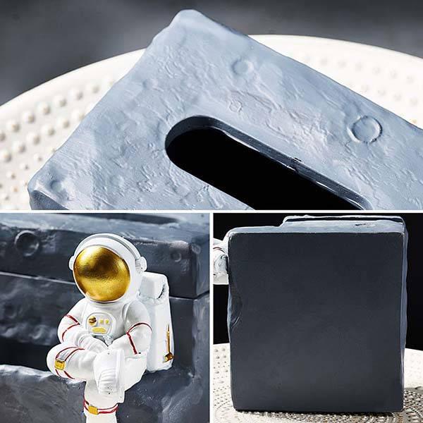 Handmade Astronaut Inspired Tissue Box