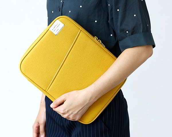 Handmade Laptop Sleeve with Multiple Pockets