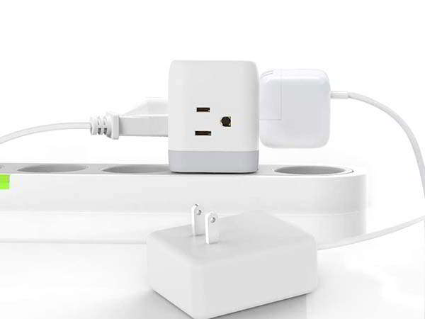 Homder Fun Outlet Extender and USB Wall Charger