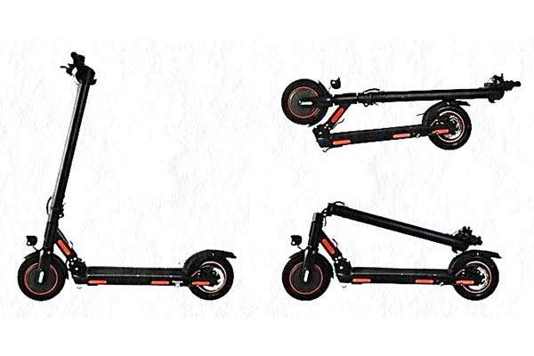 Leoway 2WD Foldable eScooter with Dual Motor Design