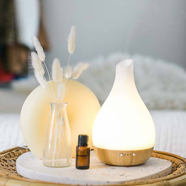 Lumiere Essential Oil Diffuser and Humidifier with LED Mood Light