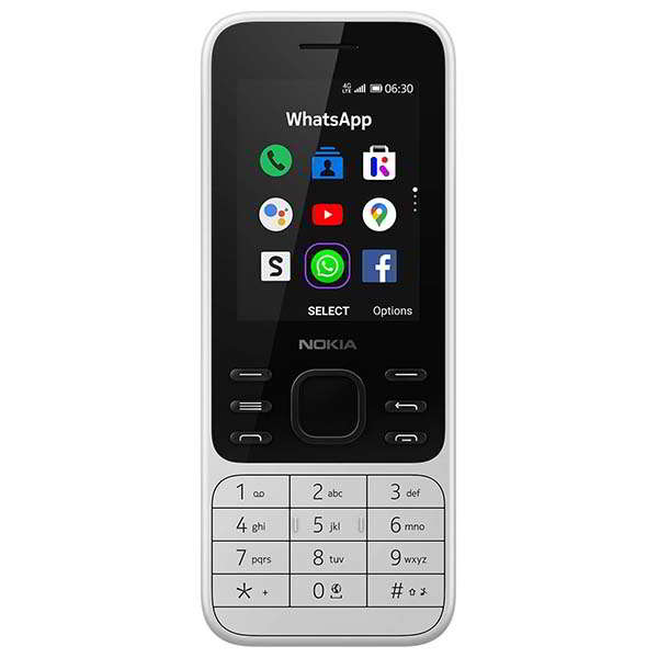 Nokia 6300 4G Mobile Phone with Dual SIM, Google Assistant and More