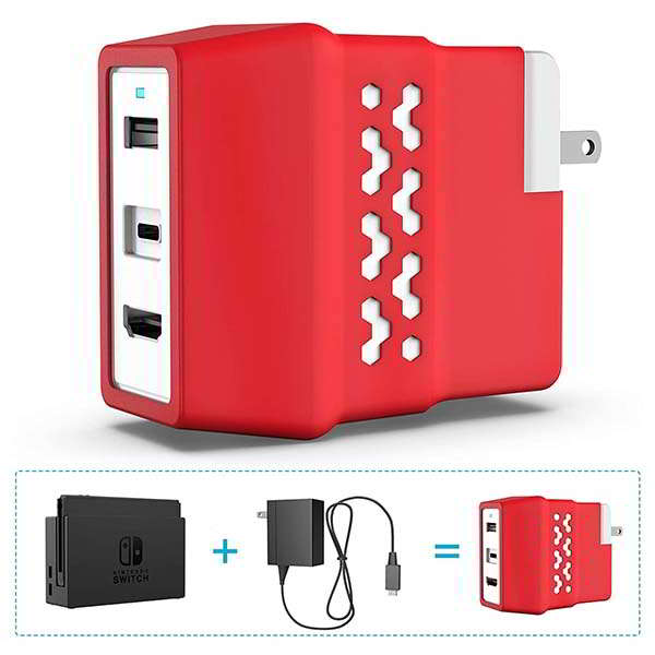 Santala Portable Nintendo Switch TV Dock and Wall Charger