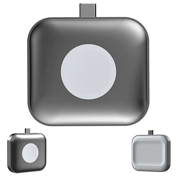 The Portable AirPods and Apple Watch Charger with Dual-Sided Charging Design