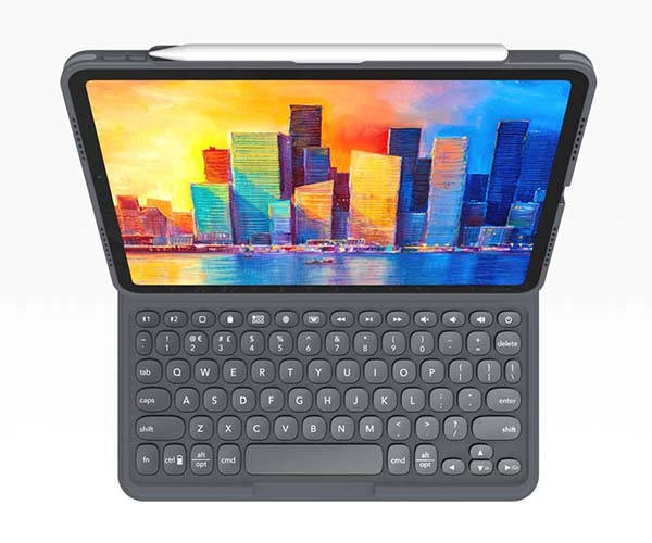 ZAGG ProKeys iPad Keyboard Case with Detachable Design