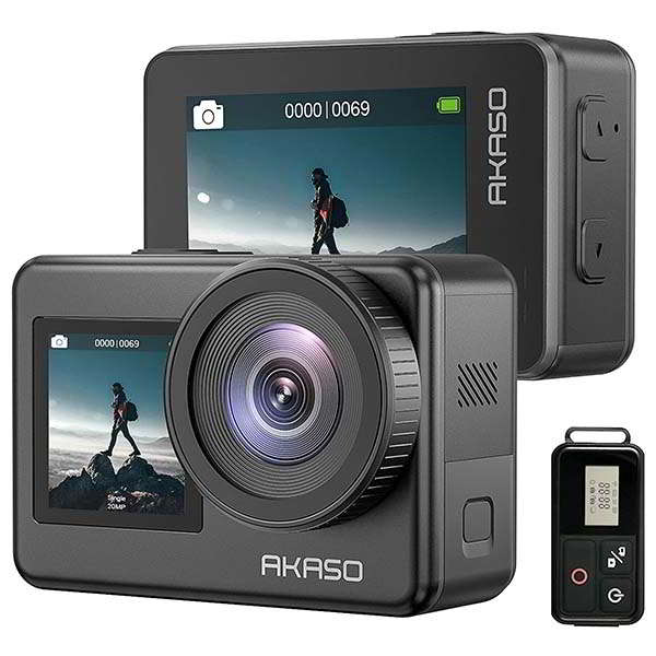AKASO Brave 7 Waterproof 4K Action Camera with Touch Screen