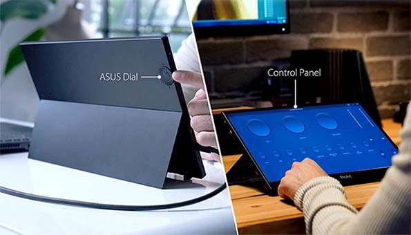 ASUS ProArt Portable Touchscreen Monitor with 100% sRGB and Rec. 709 Color Gamut