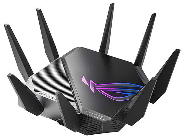 ASUS ROG Rapture GT-AXE11000 Tri-band WiFi 6E Gaming Router with AiProtection Pro