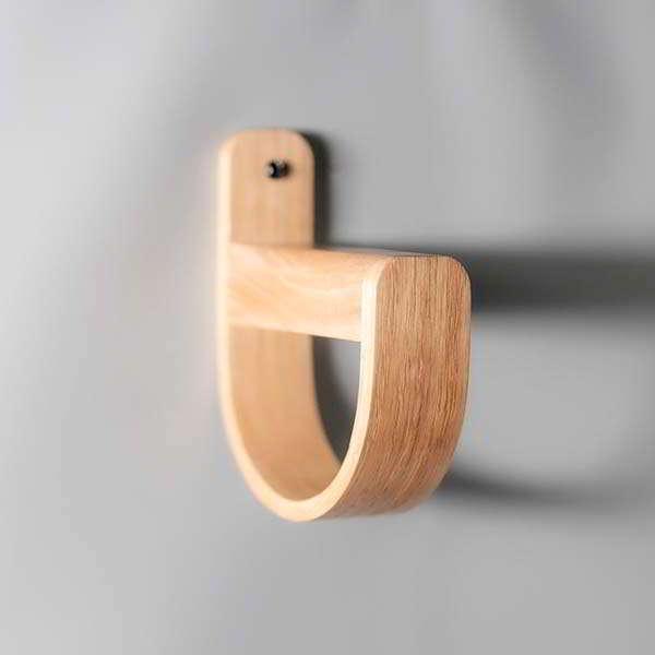 Duo S Handmade Wooden Headphone Hanger