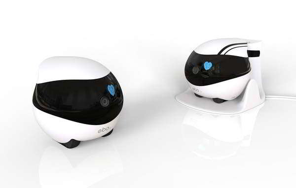 Ebo AIR/ SE Companion Robot with Full HD Camera, 2-Way Audio and More