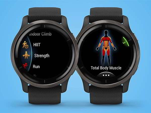 Garmin Venu 2S GPS Smartwatch with Health and Fitness Monitoring