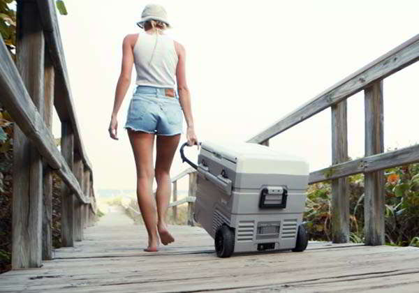 GoSun Chillest Solar Cooler with 2 Refrigeration Zones