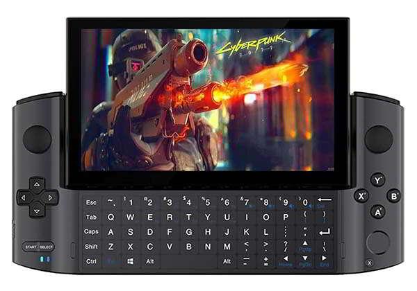 GPD Win 3 Handheld Gaming PC with 16GB RAM and Intel Iris Xe Graphics