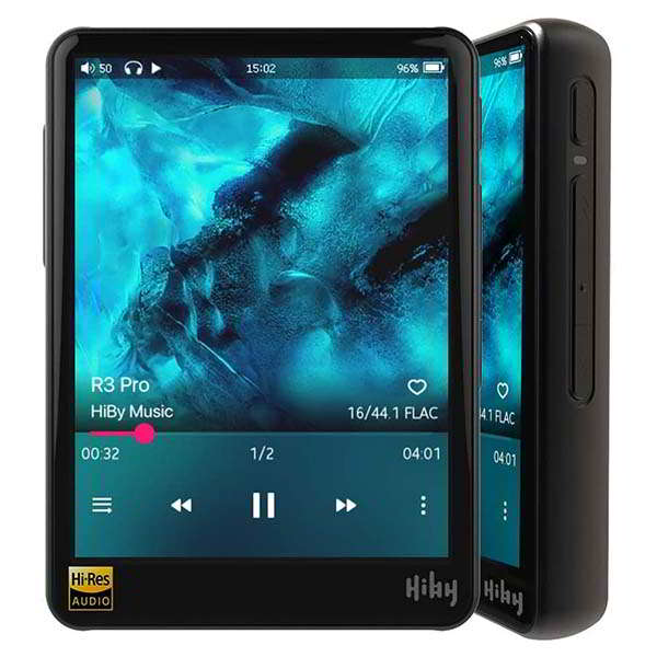HiBy R3 Pro Bluetooth Hi-Res Music Player with Dual DAC Design