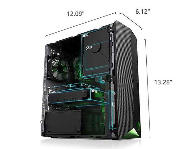 HP Pavilion Gaming Desktop Computer (2021) with GeForce GTX 1650 Super