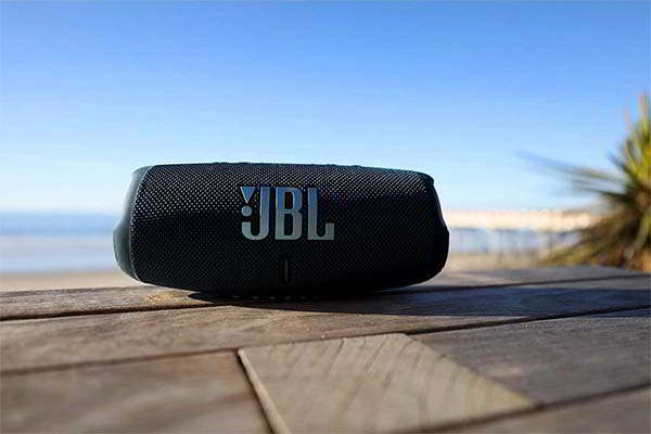 JBL Charge 5 Portable Waterproof Bluetooth Speaker with USB Charge Out