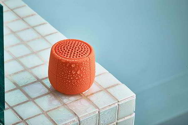 Lexon Mino X Portable Floating Bluetooth Speaker with IPX7 Waterproof Rating