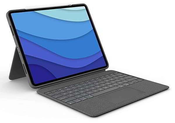 Logitech Combo Touch iPad Pro Keyboard Case with Trackpad and Smart Connector
