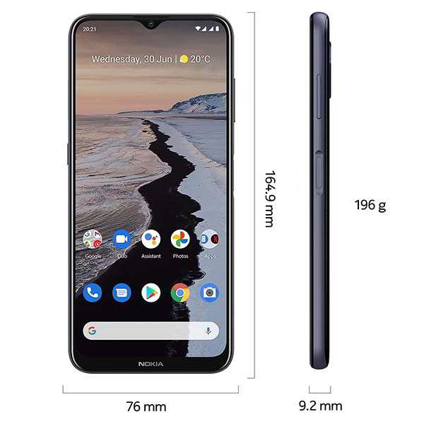 Nokia G10 Smartphone with 6.52-Inch Screen