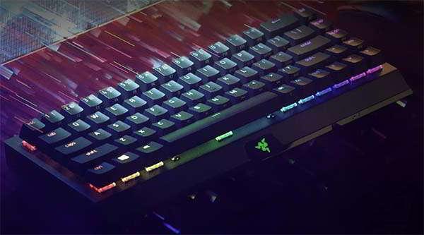 Razer BlackWidow V3 Mini 65% Wireless Mechanical Gaming Keyboard