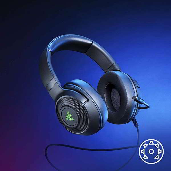 Razer Kraken V3 X Wired Gaming Headset with HyperClear Cardioid Mic
