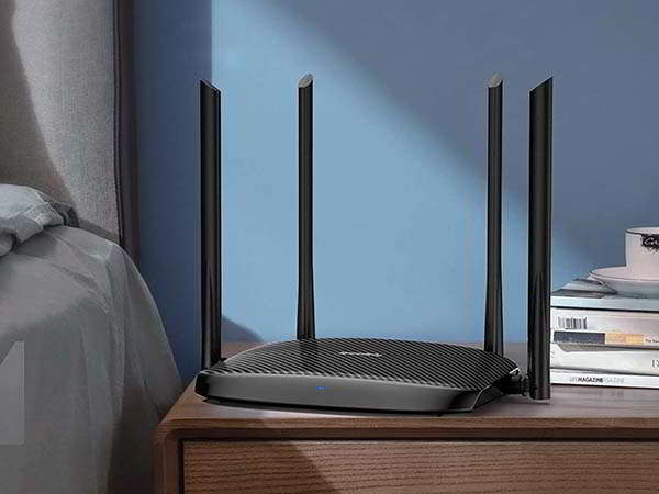Speedefy K4 AC1200 Dual-Band WiFi Router
