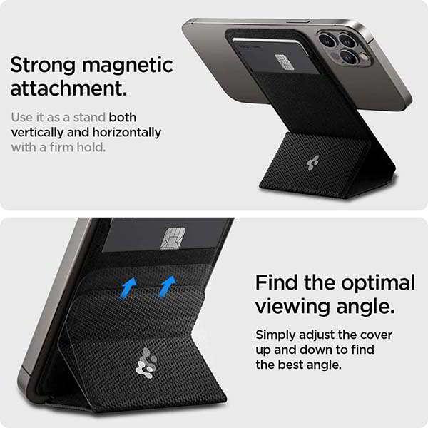 Spigen Smart Fold MagSafe Wallet Doubles as iPhone Stand