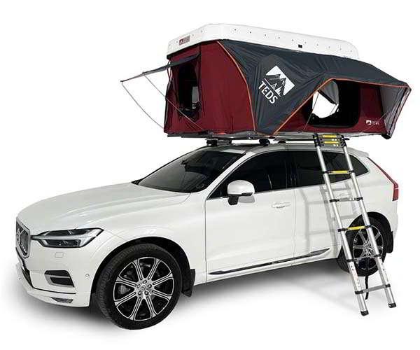 TEDPoP Pop-Up Rooftop Tent with Dual Expandable Design